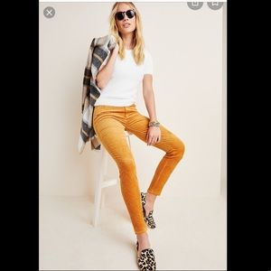Paige Hoxton High-Rise Skinny Cords from Anthro